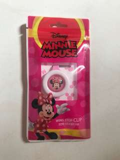 Minnie Mouse Wing Stop Clip