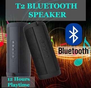 Brand New- 🎼T2 - Bluetooth Wireless Waterproof Outdoor Speaker / Portable Speaker / Bicycle Speaker/ Bathroom Speaker💦
