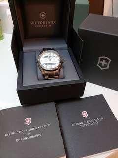 Victorinox Pilot 石英錶 雙顯設計 百靈機芯 (可換錶)