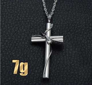 Designer High Quality Stainless steel Cross Pendant ( NO CHAIN )