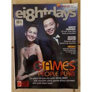 8 Days magazine  - Wheel of Fortune hosts