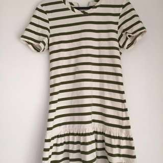 RUBY BOUTIQUE striped dress - size 6
