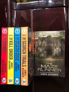 The Maze Runners (whole series)
