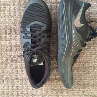 Nike Lunar with glitter swoosh - US size 7