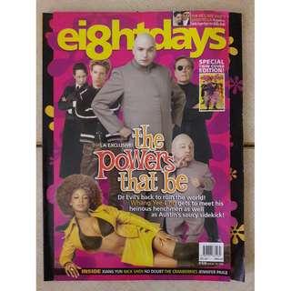 8 Days magazine  - Austin Powers in Goldmember