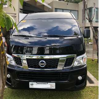 Nissan Urvan for Rent with FREE Driver - Cebu City