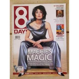 8 Days magazine  - Maggie Cheung