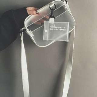 Transparent Sling Bag Ulzzang