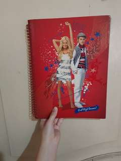 High School Musical Notebook (hardbound with stickers)