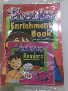Phonics enrichment books and cd