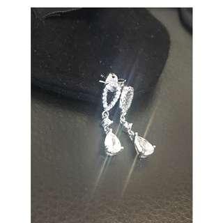 🔥限時減🔥光芒四射人造鑽石耳環