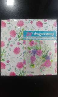 Craft Paper & Stamps