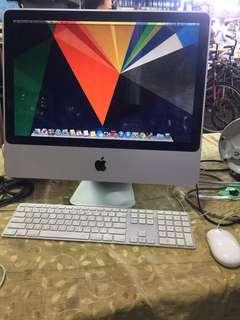 iMac 20吋 320GB 2GB RAM 256MB VRAM