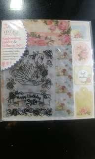 Embossing Folder & Vellums Set