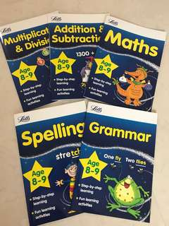 Math and English for 8-9 yo