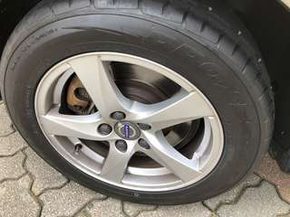 "Made in Japan 16"" Toyo tyres (2 weeks old)"