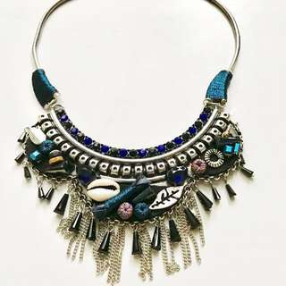 'Camilla' Unique Ethnic Statement Necklace