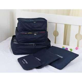 Traveling Bag Organizer 6 In 1