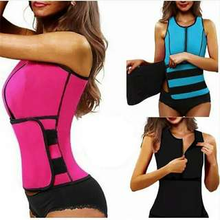 Fat Burning FitnessBody Girly Stretch Yuga Exercise Tops Waist Cinchers Hot Slimming