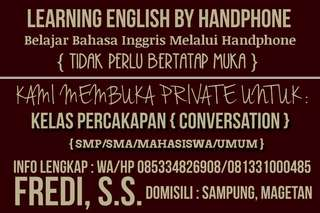 Learning English by Phone