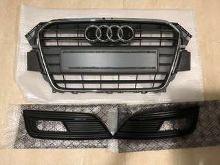 WTS Used A4 8.5 front and fog lamp grille