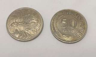 Singapore old 50cents