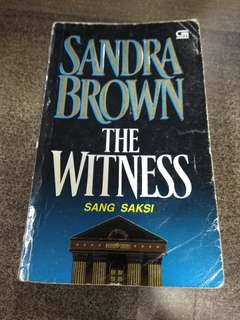 The Witness - Sang Saksi by Sandra Brown