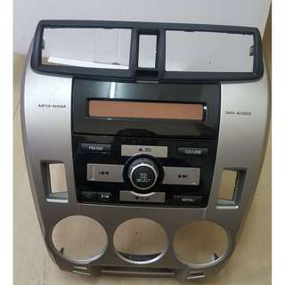 HONDA CITY AUDIO PLAYER 2012