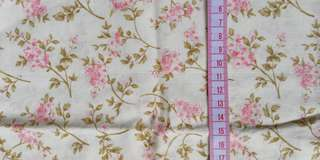 Cotton Fabric floral design