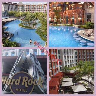 3D2N WEEKEND RWS Hard Rock Hotel Stay - JULY till DECEMBER