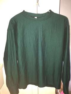 Sweater墨綠色上