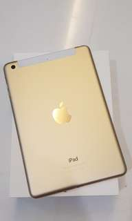 iPad mini 3 (A1600) gold 16gb cellular