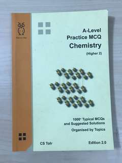 (CS TOH) A LEVEL PRACTICE MCQ CHEMISTRY