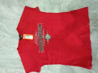 Brand new Authentic lady's Harley Davidson tee