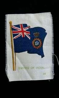 1910年英屬印度殖民旗(英商Player's煙草公司出品)
