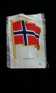 1910年挪威王國國旗(英商Player's煙草公司出品)