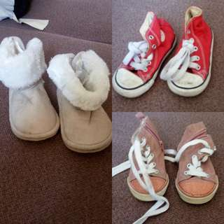 Shoes bundle (Converse,old navy and h&m)