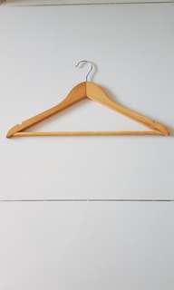Wooden Hangers x 10
