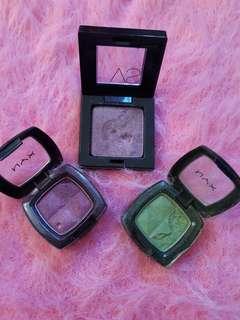 NYX & Victoria's Secret Eyeshadow