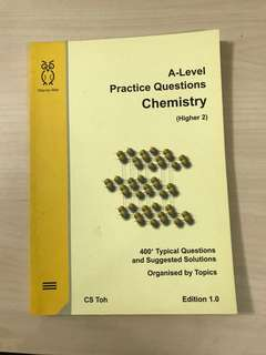 (CS TOH) A LEVEL PRACTICE QUESTIONS CHEMISTRY