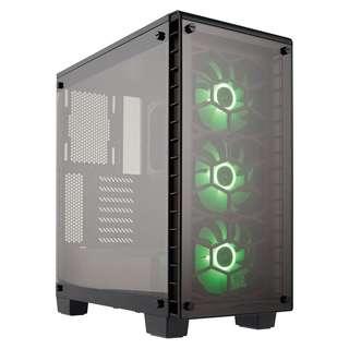 CORSAIR Crystal Series™ 460X RGB Compact ATX Mid-Tower Case