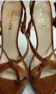Authentic prada heels
