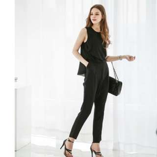 Women Stylish Jumpsuit (Black)
