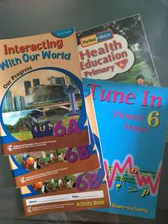Primary 6 Social Studies textbooks