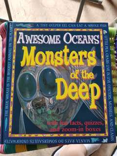Awesome oceans monsters of the deep