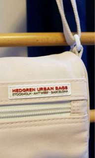 HEDGREN URBAN BAG CREAM COLOR CROSS-BODY BAG
