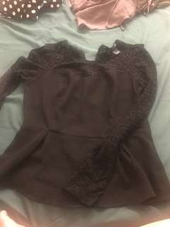 REPRICED!! Forever 21 laced top