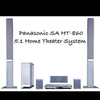 Panasonic 5.1 家庭影院組合 🎁另送一對IKEA後置喇叭座