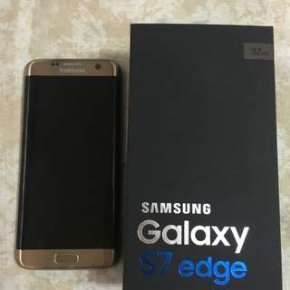 Samsung S7 Edge Gold Open Line