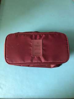 Travel Pouch For Undergarments